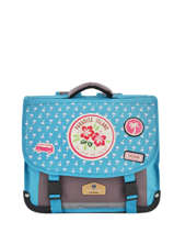 Cartable 1 Compartiment Pol fox Bleu fille F-CA35