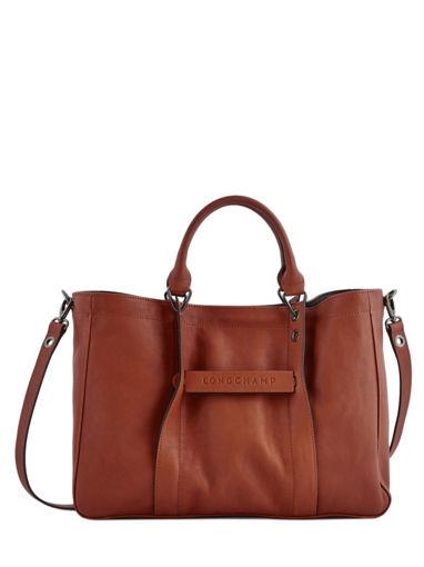 Longchamp Handtas Bruin