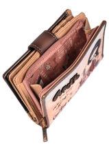 Porte-monnaie Arizona Anekke Noir arizona 30709-02-vue-porte