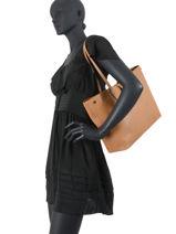 Longchamp Roseau essential Schoudertas Zwart-vue-porte