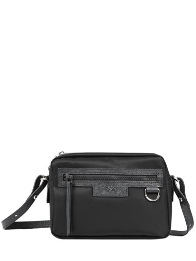 Longchamp Le pliage neo Sac porté travers Noir