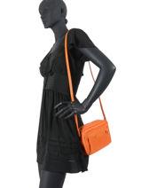 Longchamp Le pliage neo Cross body tas Oranje-vue-porte