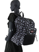 Sac à Dos Pinnacle Eastpak Noir authentic K060-vue-porte