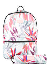 Sac à Dos 1 Compartiment Avec Trousse Assortie Rip curl Blanc frame deal girl LBPCE4