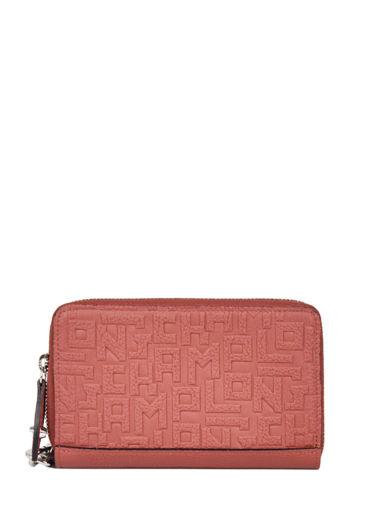 Longchamp La voyageuse lgp Portefeuille Rouge