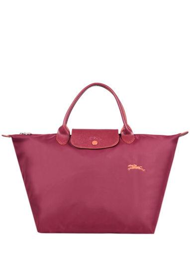 Longchamp Le pliage club Sac porté main Rouge