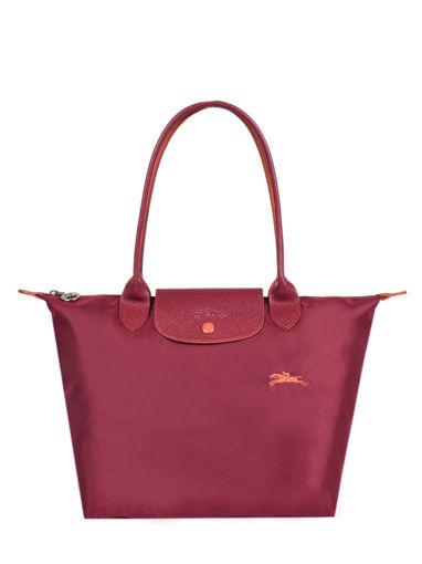 Longchamp Le pliage club Besace Rouge