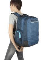 Sac A Dos 2 Compartiments Quiksilver Bleu kids QBBP3041-vue-porte