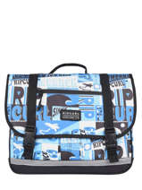 Cartable 2 Compartiments Rip curl Bleu surf BBPBK5SU