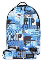 Sac à Dos Avec Trousse Assortie Rip curl Bleu surf BBPBS5SU