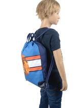 Sac De Sport Garçon City Bag Jeune premier Bleu daydream boys B-vue-porte