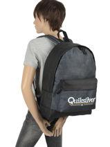 Rugzak 1 Compartiment Quiksilver Blauw youth access QBBP3042-vue-porte