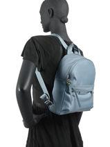 Longchamp Le pliage neo Sac à dos Bleu-vue-porte