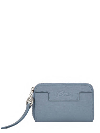 Longchamp Le pliage neo Porte monnaie Bleu