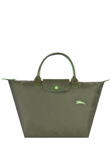 Longchamp Le pliage club Sac porté main Vert