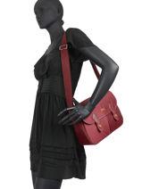Longchamp Le pliage club Besace Rouge-vue-porte