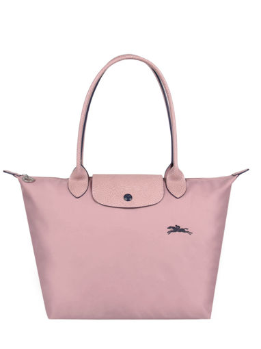 Longchamp Le pliage club Besace Rose