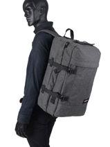 Reistas Rugzak Transverz Eastpak Grijs authentic luggage K13E-vue-porte