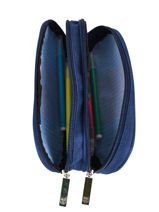 Trousse 2 Compartiments Fc barcelone Bleu fc barcelona OVALNA2-vue-porte