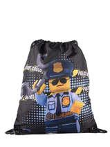 Sac à Dos Lego Bleu city police chopper 3