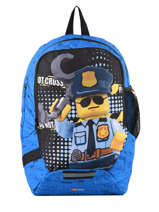 Rugzak 1 Compartiment Lego Blauw city police chopper 3