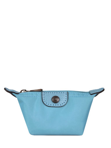 Longchamp Le pliage club Porte monnaie Bleu