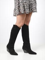 Hoge laarzen-BRONX-vue-porte