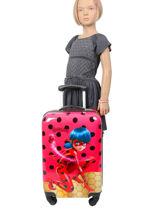 Harde Reiskoffer Tales Of Ladybug Miraculous Rood tales of ladybug 109896LB-vue-porte