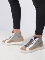 Sneakers glitter-MELINE-vue-porte