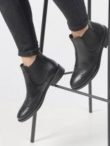 Boots en cuir-TAMARIS-vue-porte