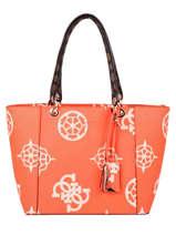 Sac Shopping A4 Kamryn Guess Orange kamryn SO669123