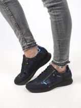 Monia sneakers uit leder-MEPHISTO-vue-porte