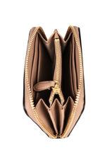 Portefeuille Dryden Leder Lauren ralph lauren Beige dryden 32754175-vue-porte