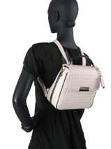 Sac à Dos Compact Matrix Guess Multicolore matrix VG774032-vue-porte