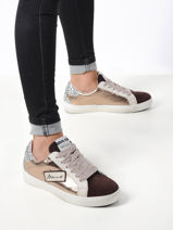 Sneakers leder-MELINE-vue-porte