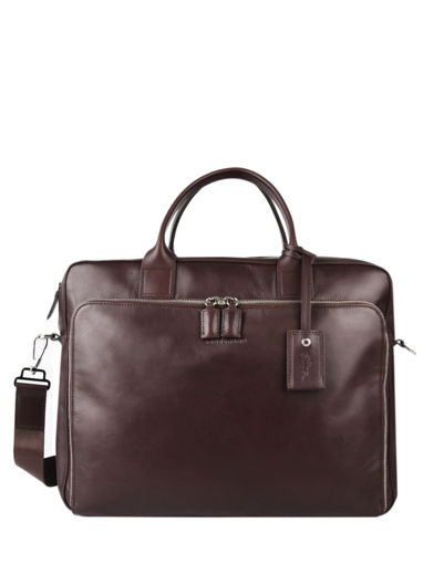 Longchamp Baxi Aktetas Bruin