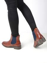 Boots uit leder-TAMARIS-vue-porte