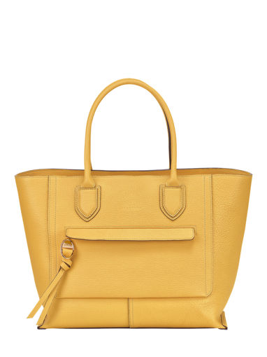 Longchamp Mailbox Sac porté main Jaune