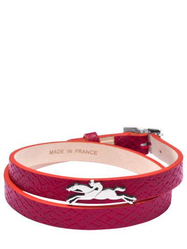 Longchamp Le pliage club Bijoux Rouge