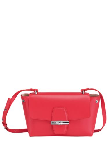 Longchamp Roseau box Sac porté travers Rose