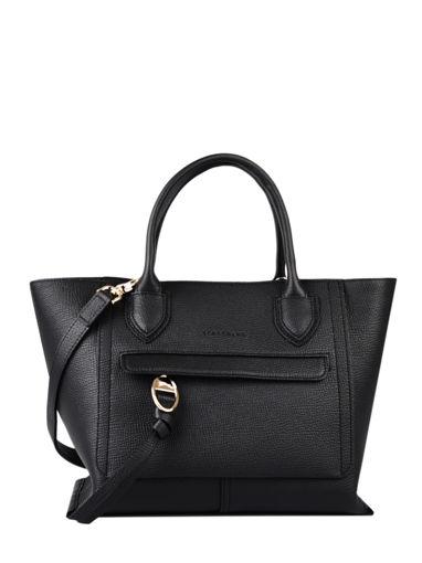 Longchamp Mailbox Sac porté main Noir