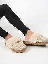 Cozy pantoffels -UGG-vue-porte