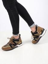 Sneakers en cuir-MAM