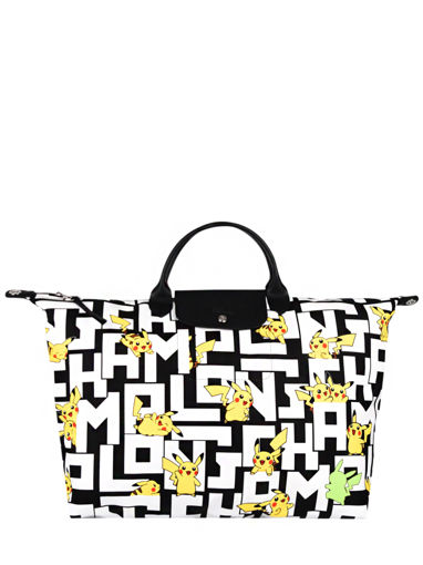 Longchamp Le pliage collection pokemon Reistassen Wit