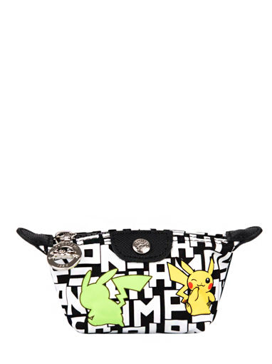 Longchamp Le pliage collection pokemon Porte monnaie Blanc