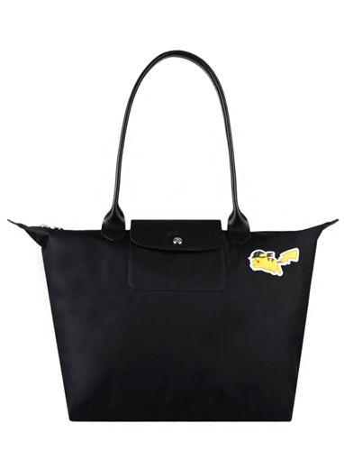 Longchamp Le pliage coll pokemon Besace Noir