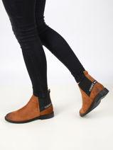 Chelsea boots essential en cuir-TOMMY HILFIGER-vue-porte
