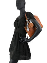 Schoudertas Fur Miniprix Zwart fur DQ8585-vue-porte