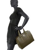 Cabas Sac Lily David jones Blanc sac lily 2-vue-porte