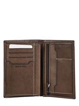 Portefeuille Cuir Serge blanco Marron catane CAT21019-vue-porte